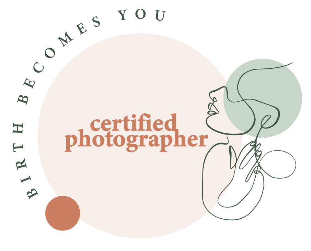 Birth Becomes You certified photographer logo